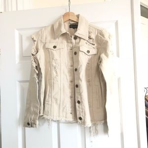 Jackets & Blazers - Off white / cream denim jacket